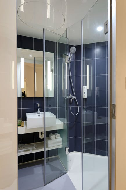 Big space saving ideas for small bathrooms for New bathroom small space