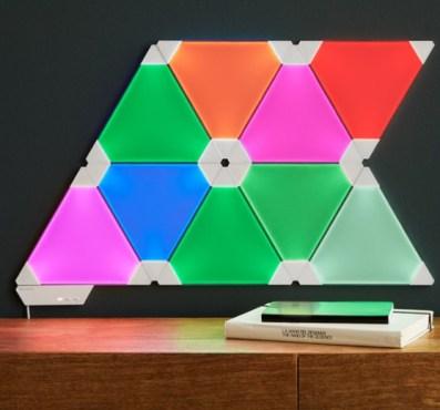 lighting panels office decor colourful