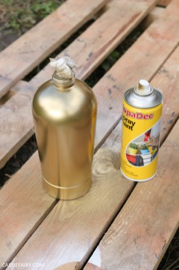 How to diy a retro vintage cocktail cabinet gold soda syphon-3