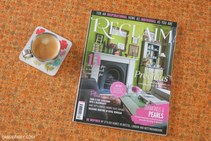 photo of the front cover of reclaim magazine