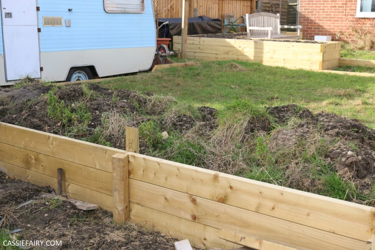 My Garden Makeover Terracing The Slope With Retaining Walls