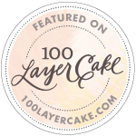 100 Layer Cakelet Feature Badge, Cassie Green Photography, Los Gatos, CA