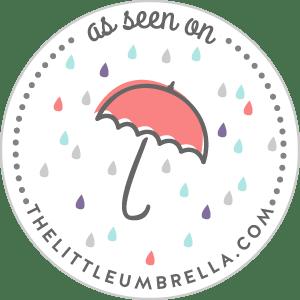The Little Umbrella Feature Badge, Cassie Green Photography, Los Gatos, CA