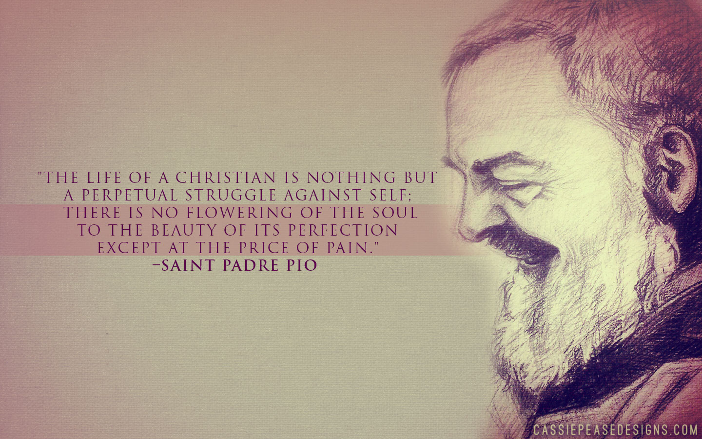 Christian Quote Wallpaper Desktop St Padre Pio Desktop Wallpaper Cassie Pease Designs