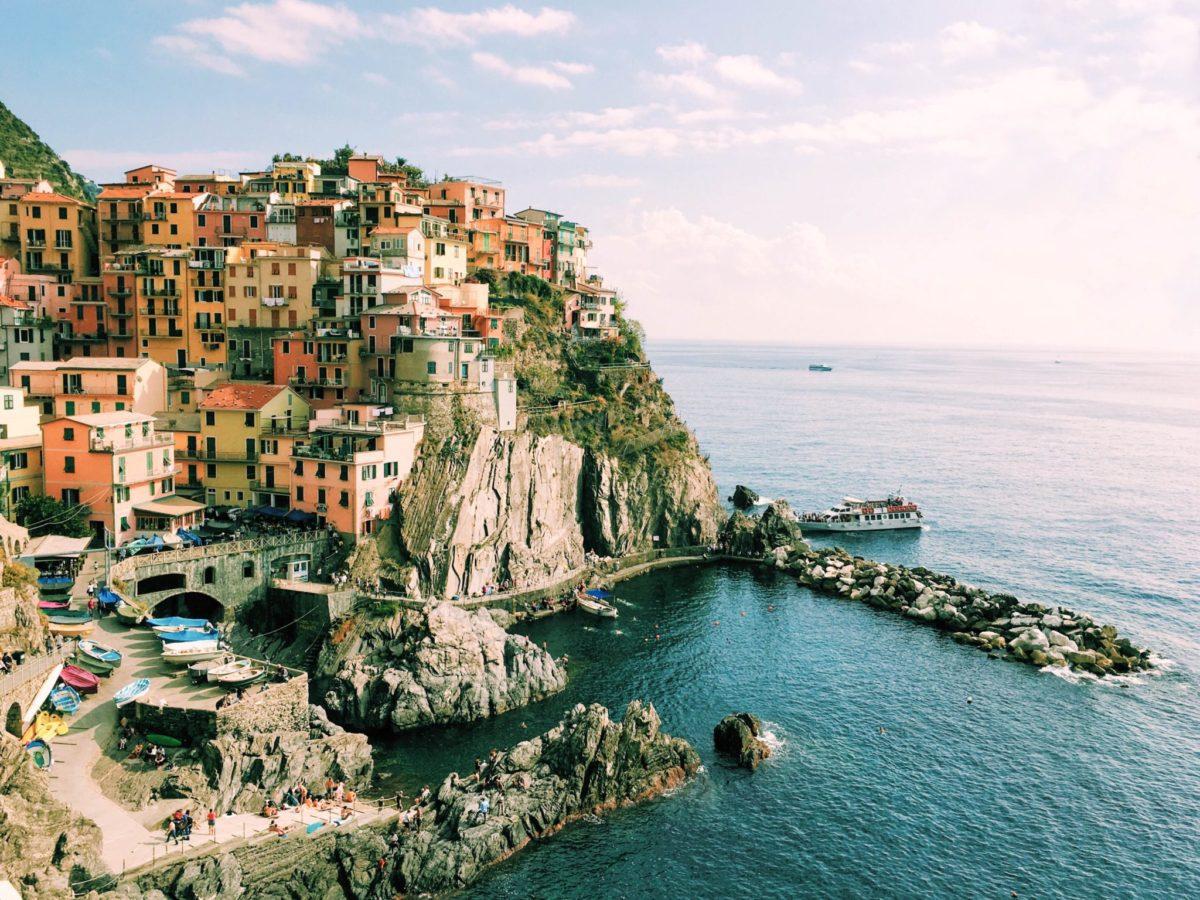 Travel Devotional: Christ on Cinque Terre