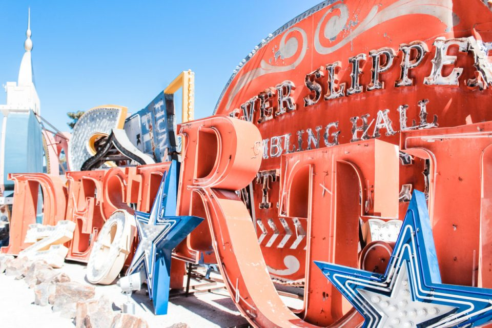 A visit to the Neon Museum LV.