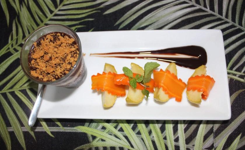 Sweet treats a Cantaloupe Levels, a small boutique hotel in Sri Lanka