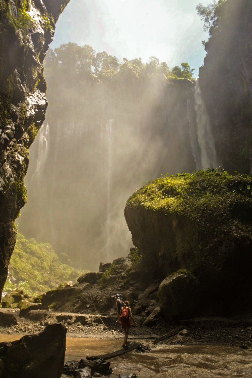 TUMPAK SEWU FULL GUIDE – 3 waterfalls day trip, trekking info, how to get there, costs and solo travel advice – East Java