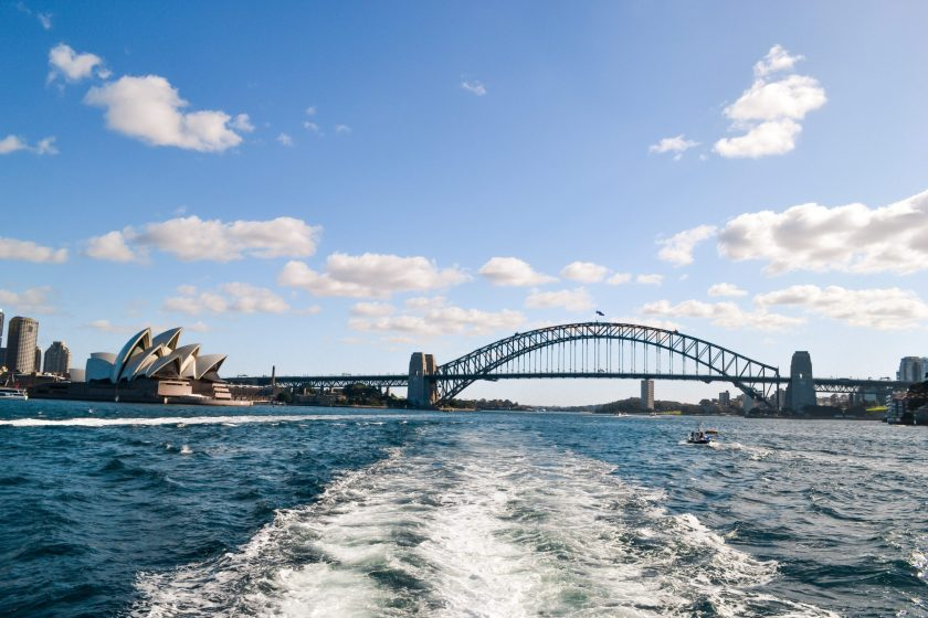 The view from the Manly Ferry