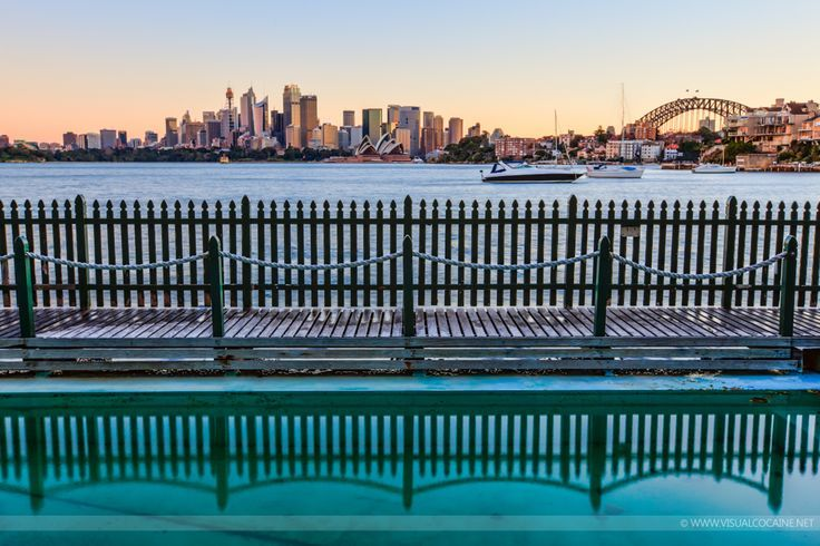 Anne's favourite thing to do in Sydney - Maccallum Pool at Cremorne Point