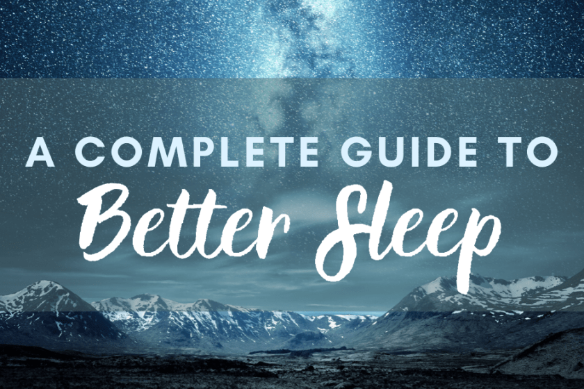 A 15 step guide to better sleep