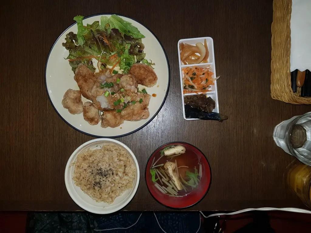 Vegan restaurant in Japan