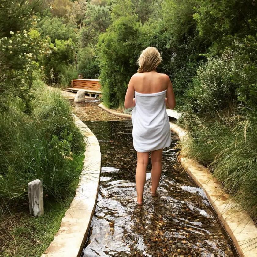Penninsula Hot Springs, Reflexology Walk
