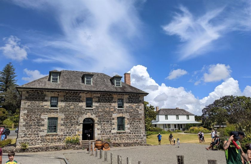 Kent House and Stone Store, in Kerikeri, Bay of Islands, New Zealand