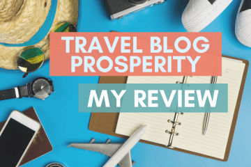 travel blog prosperity course review