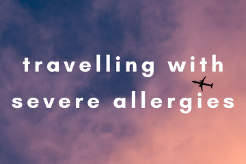 travelling with severe allergies