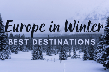 BEST DESTINATIONS FOR EUROPE IN WINTER