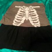 halloween outfit, skeleton, skeletal, cassiewearswhat.com, cassie wears what