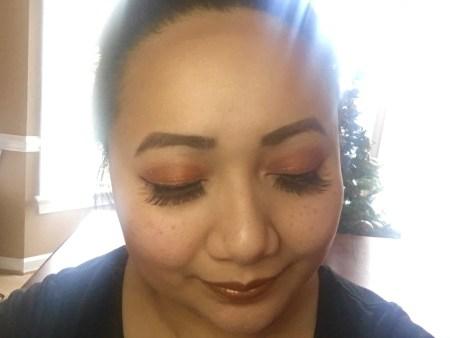 sugarpill pumpkin spice, makeup, cassie wears what, cassiewearswhat.com