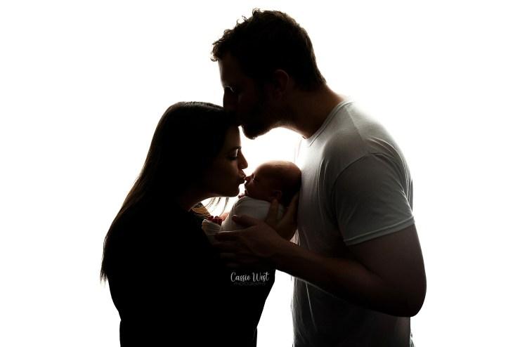 parent image with newborns