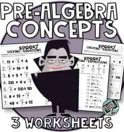 Halloween Math 4th \u0026 5th grade algebra skills Evaluating Expressions [ 2250 x 2250 Pixel ]