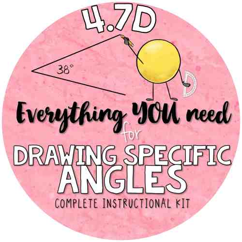 small resolution of 4 7 d drawing angles with given measures using a protractor 4th grade teks kit 4 7d