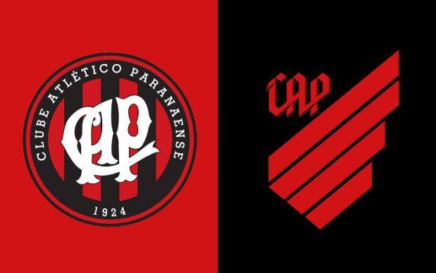 """O rebranding adotado pelo """"Athletico Paranaense"""". Ideia já ..."""
