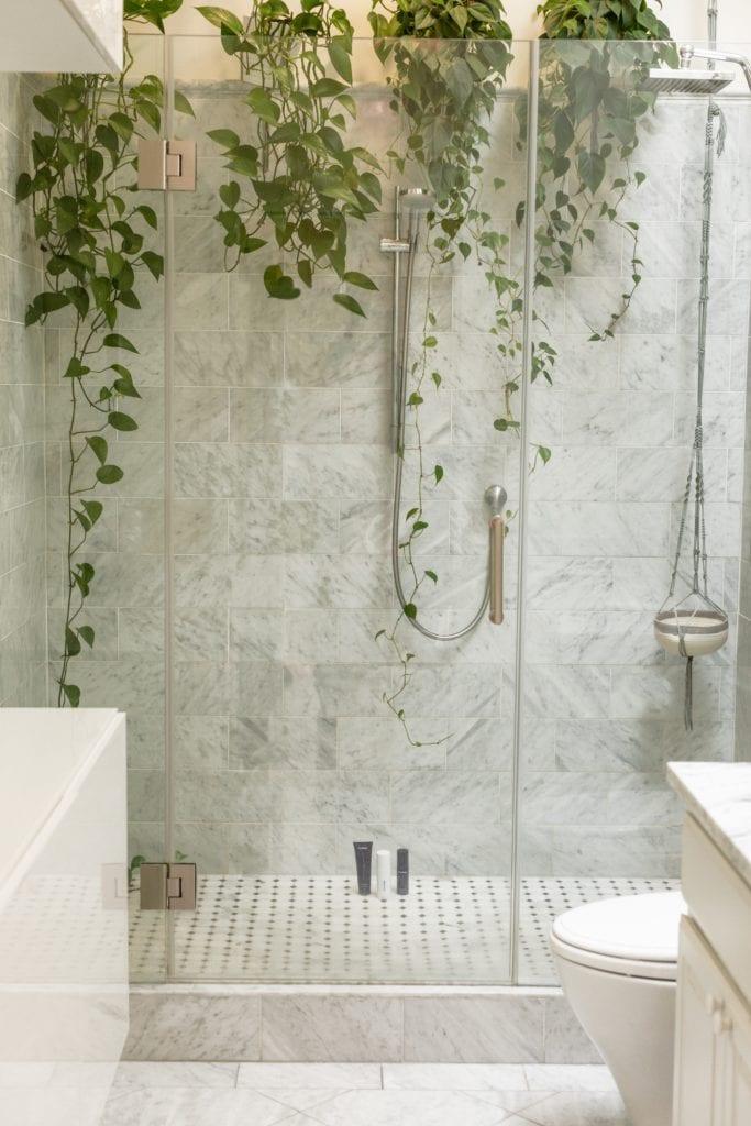 badkamer met planten kalkvrij interiorqueen cassandra pater-bosman