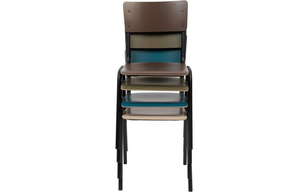 stapelbare eetkamer stoel hout