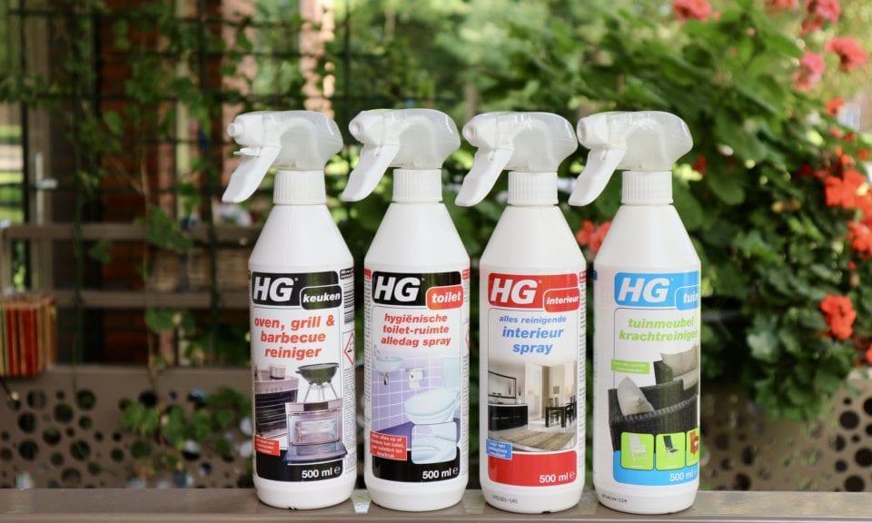 HG schoonmaakmiddelen voor luie huisvrouwen