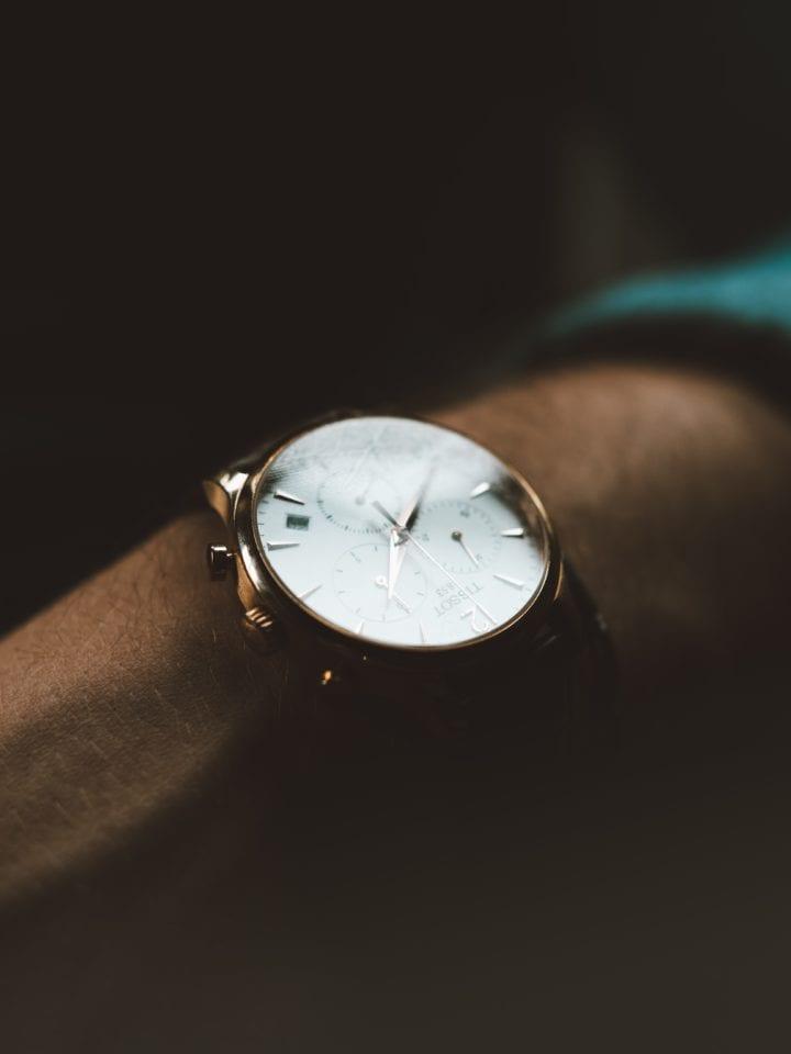 Tijdloze accessoire man horloge