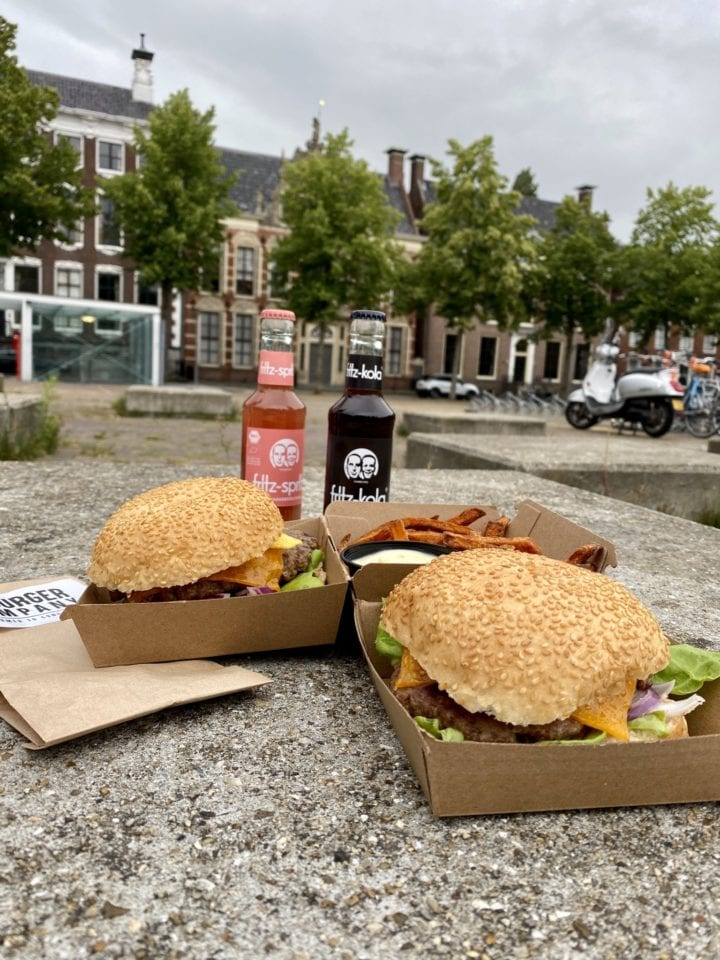 Fritzkola bakkerij Haafs haren The burger company takeaway groningen