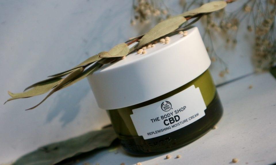the body shop CBD Replenishing Moisture Cream review