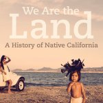 """book cover for """"We Are the Land"""""""