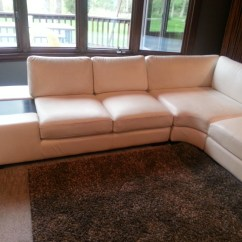 T35 Mini Modern White Leather Sectional Sofa Chesterfield Covers Large Contemporary With Built In