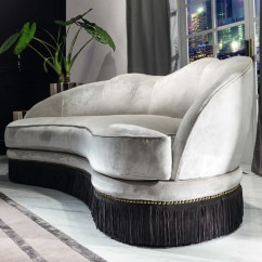 Leather And Fabric Sofa In Same Room Ikea With Chaise Lounge Daisy Luxury Glamour - Italian Designer & ...