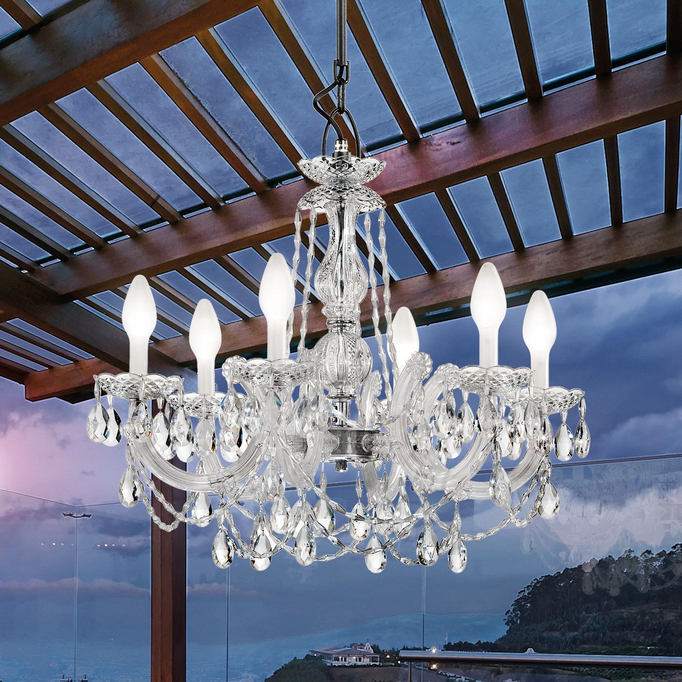 exclusive drylight outdoor chandelier