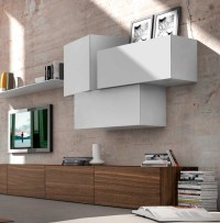 High-end Italian Designer Inclinart Wall Unit - Italian ...