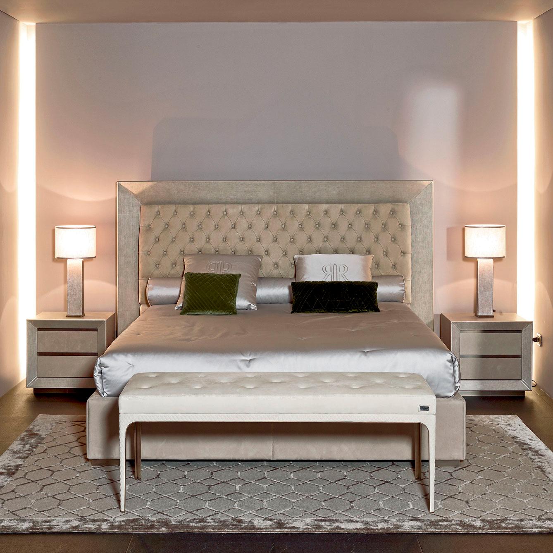 Luxury Italian Designer Kenya Bed  Italian Designer