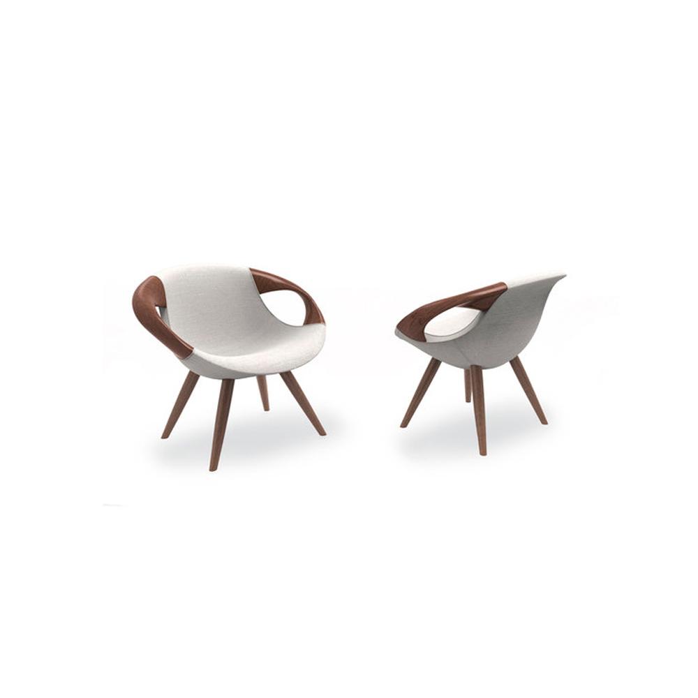 Contemporary Italian designer Up Lounge Chair  Italian