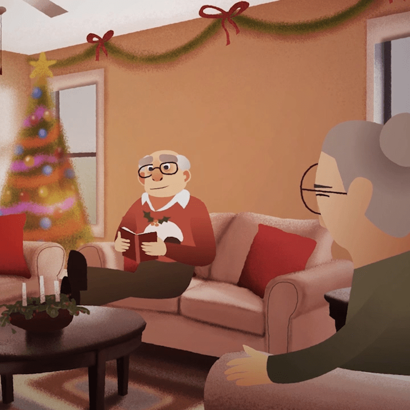 Animated Christmas Film