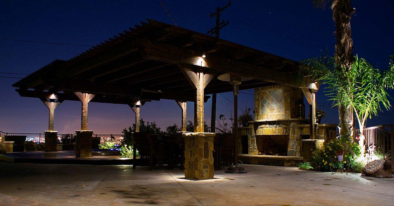 light outdoor stone walls