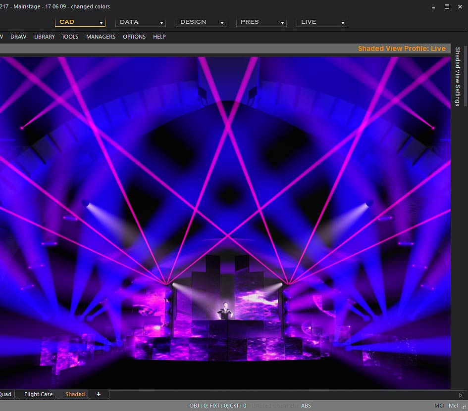 wysiwyg lighting design cast software