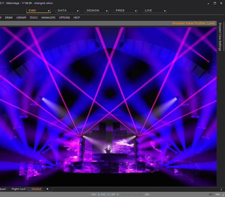 Studio Lighting Software: Stage Lighting Simulator Free Online