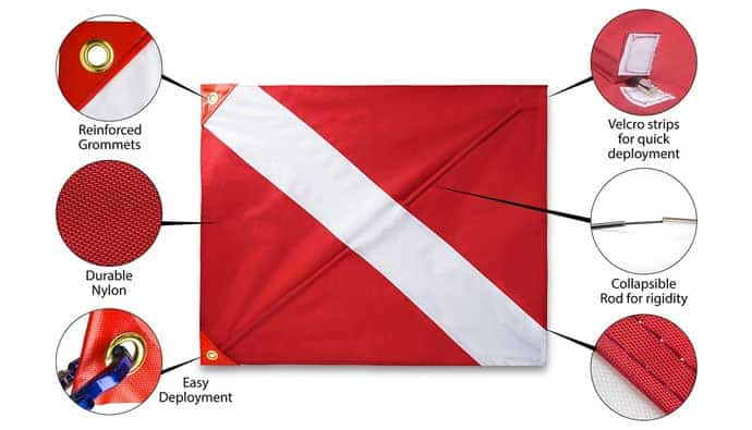 best dive flag details