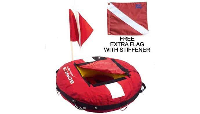 best dive flag instructor float