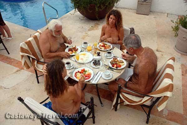 Nudist breakfast resorts and bed