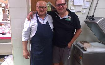 Danilo Bassi con Alessandro Poggi