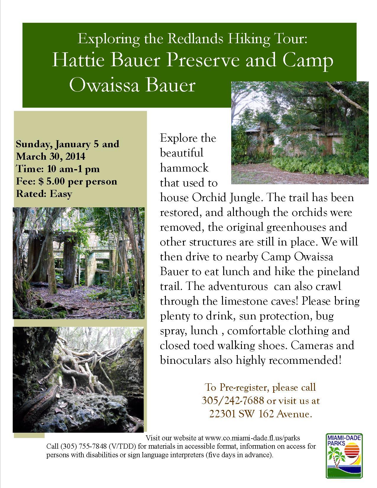 Exploring The Redlands Hiking Tour Hattie Bauer Preserve