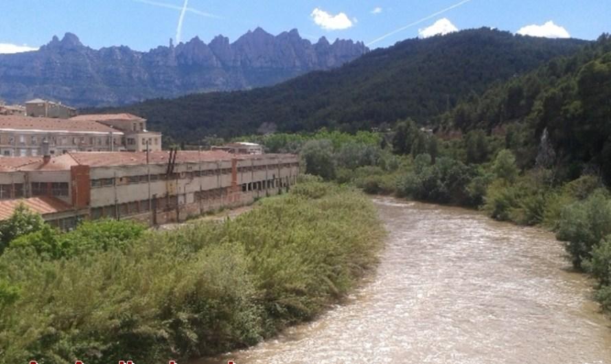Les pluges  de les darreres setmanes deixen un bon cabdal al riu llobregat